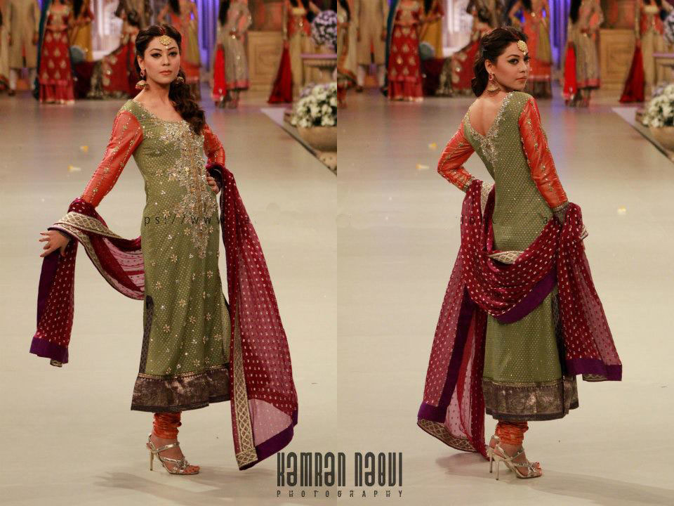 bridal couture week with super model ayyan