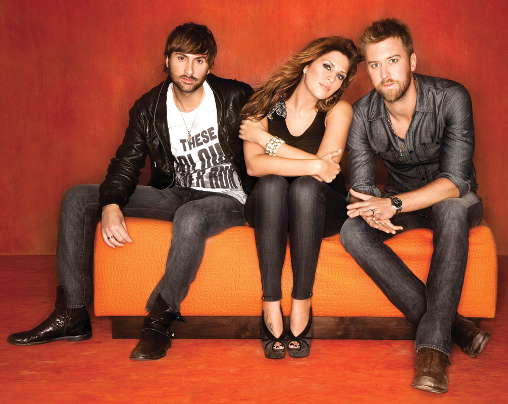 Lady Antebellum Shirtless