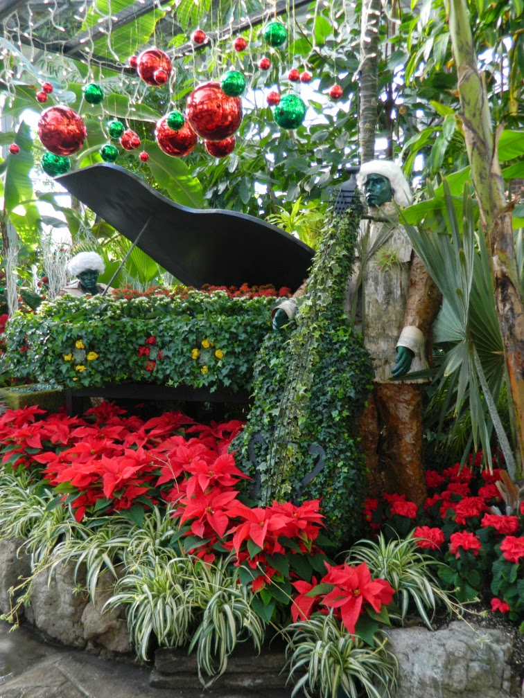 Piano bass players Allan Gardens Conservatory Christmas Flower Show 2014 by garden muses-not another Toronto gardening blog