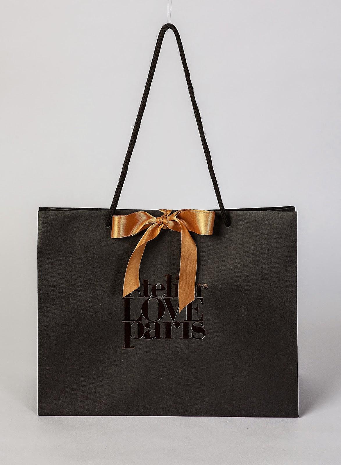 BRAND PAPER BAG: [Atelier Love Paris] 2013 & 2014 version ...