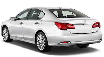 2016 Acura RLX Back