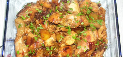 Loureen's Filipino Pineapple Chicken