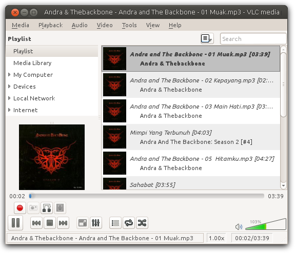 how to get to tool menu in vlc
