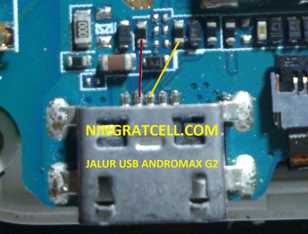 Jalur USB Andromax G2