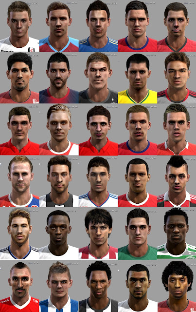 Download Facepack PES 2013 by Fox