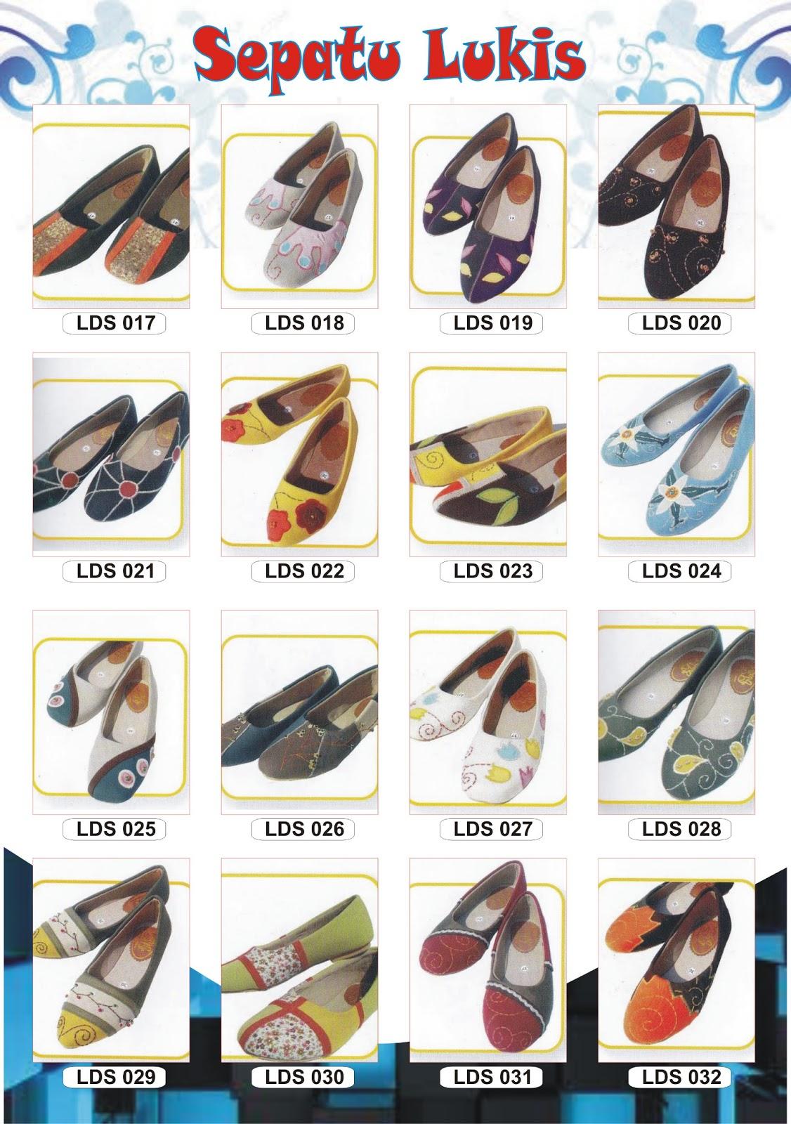 Sepatu Lukis Spesial Ibu-ibu muda & ABG | om_@gin
