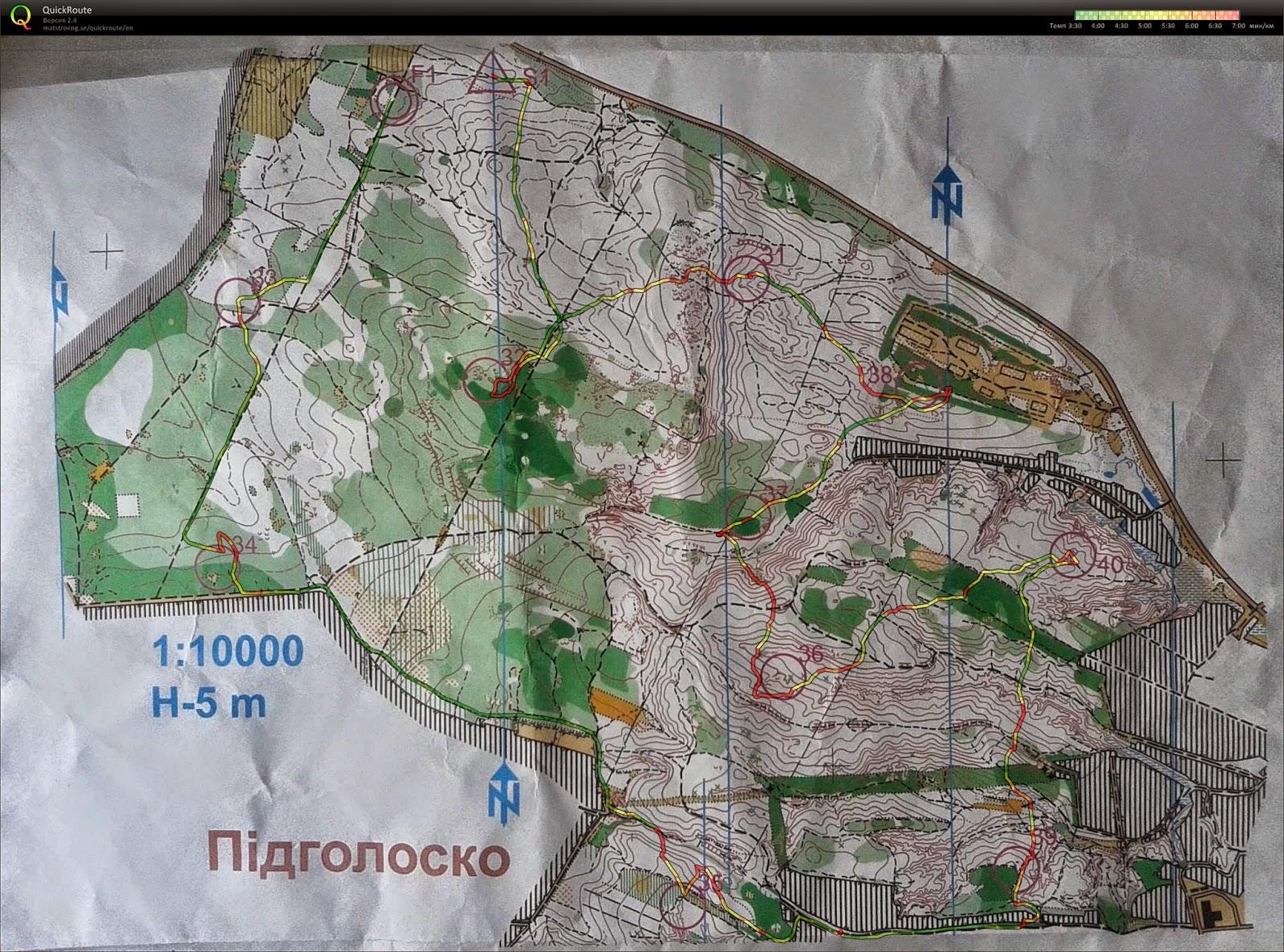 карта Чемпионата Украины во Львове