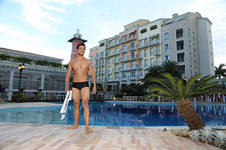 Mister Pantanal MS - Guilherme Sampati, 18 anos, 1,88 m - Foto: Leonardo Rodrigues