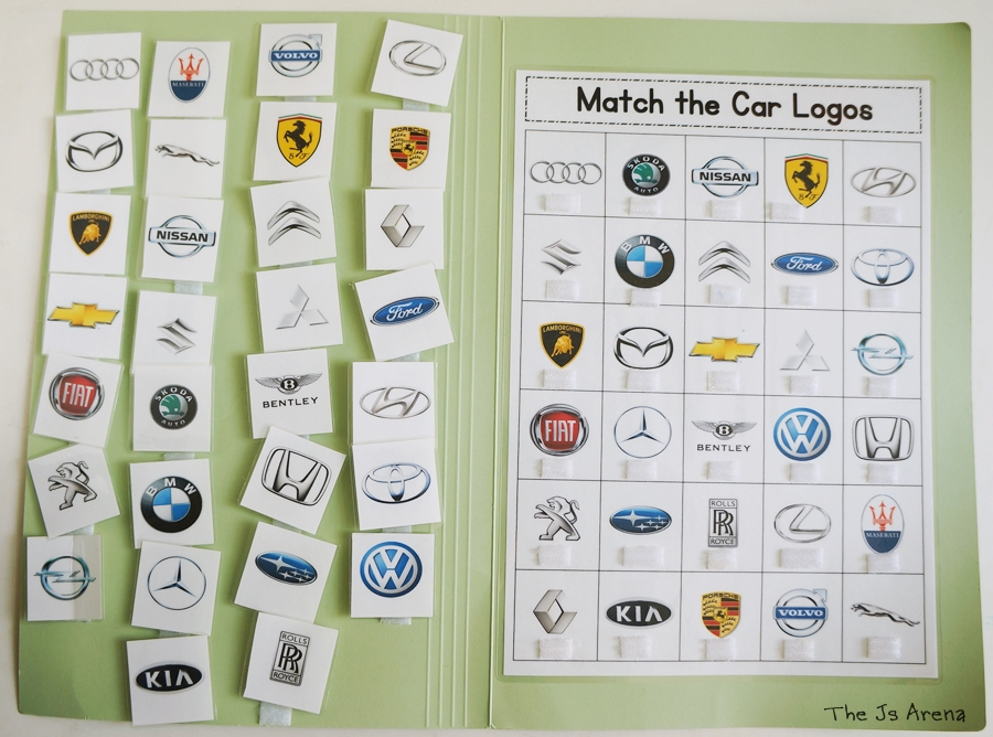 match the car logos free printable the js arena a singapore
