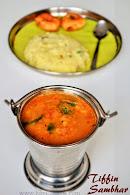 Tiffin Sambhar | Hotel style tiffin sambhar | Idli Sambhar | Side dish for Idli Dosa