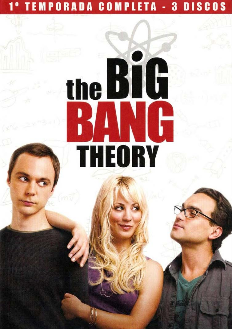 The Big Bang Theory 1ª Temporada Torrent - Blu-ray Rip 720p Dual Áudio (2007)