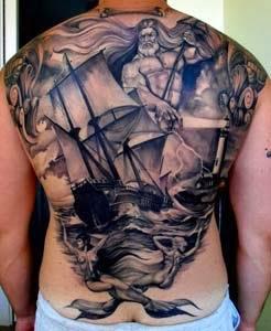Ideias de tatuagem nas costas