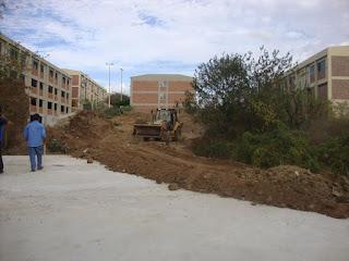 Prefeitura Setorial do CES/UFCG executa serviços de terraplanagem no campus de Cuité