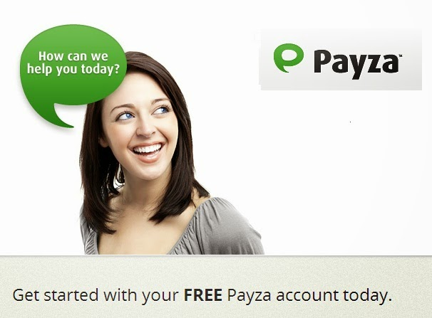 registered payza account