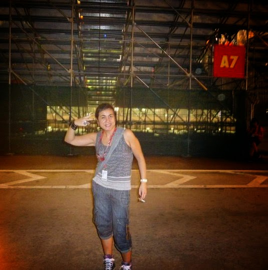 Sara en Singapur