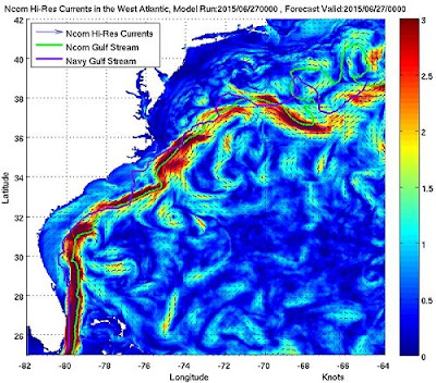 Florida Gulf Stream Map