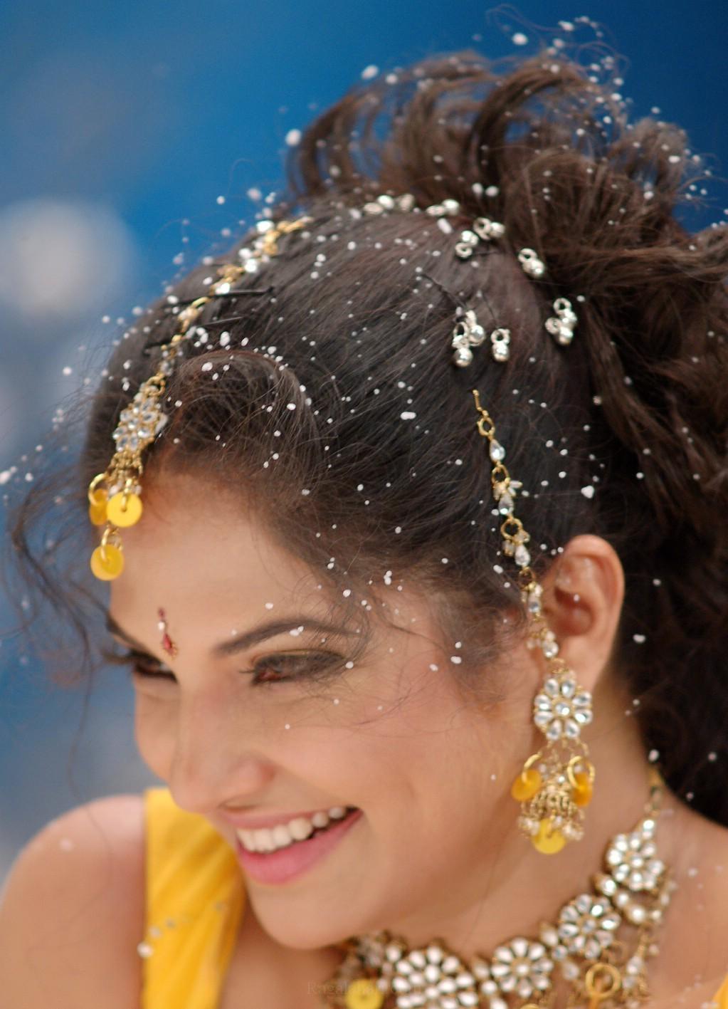 South Actress Diya in Yellow Dress