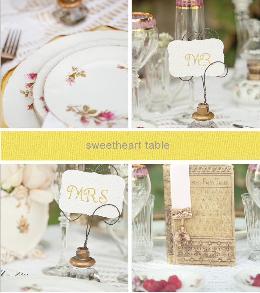 Design Minded Romantic Vintage Elegance Wedding Chicks