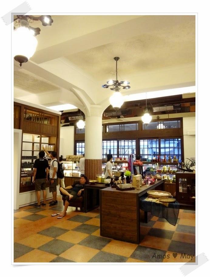 台南,景點,推薦,林百貨,一樓大廳裝潢