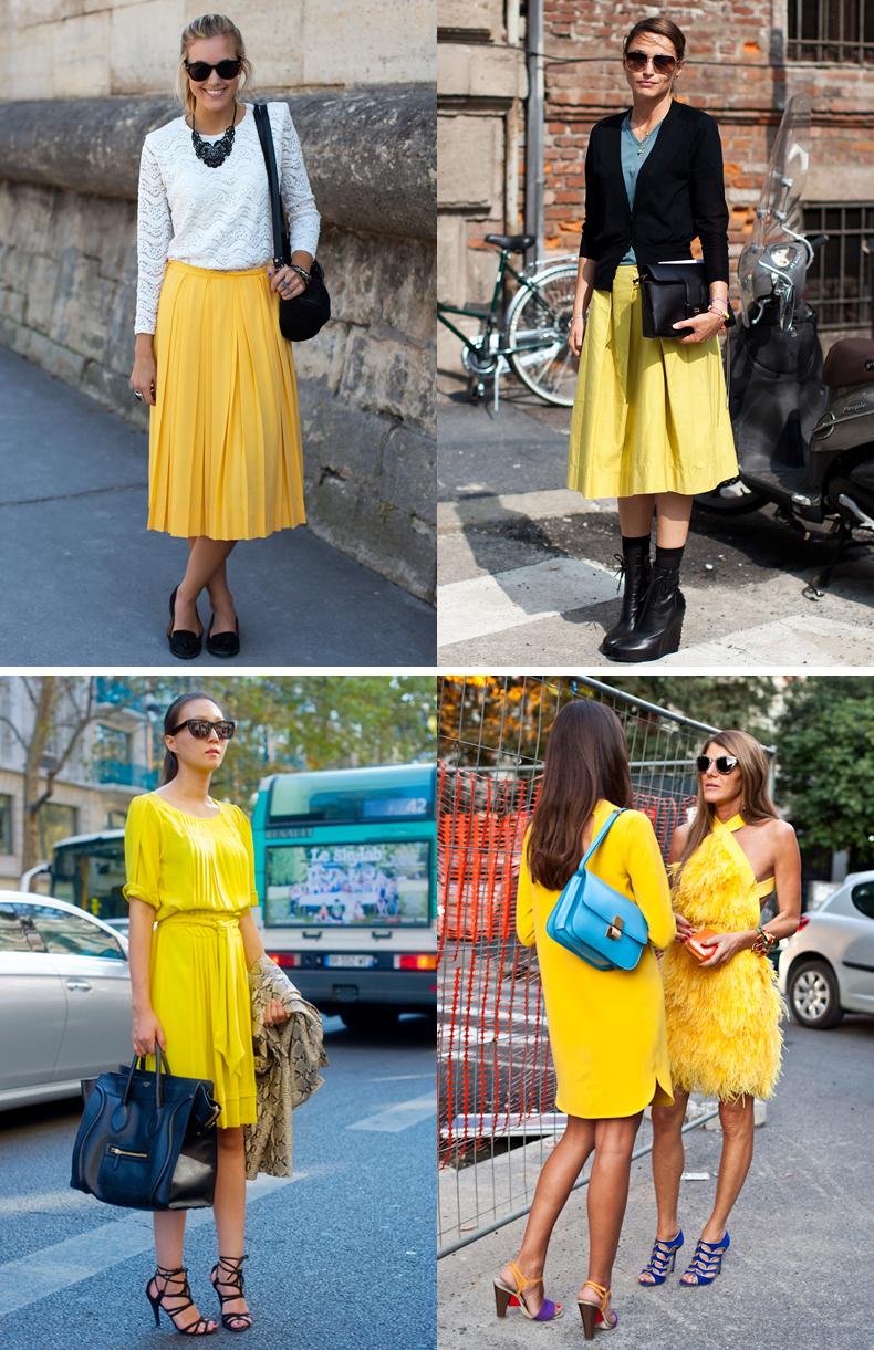 sarı giysiler, sarı modeller, yeni sezon sarı