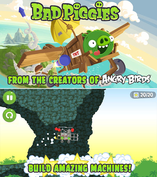 Bad Piggies v1.0 Cracked (PC/2012) [FD]