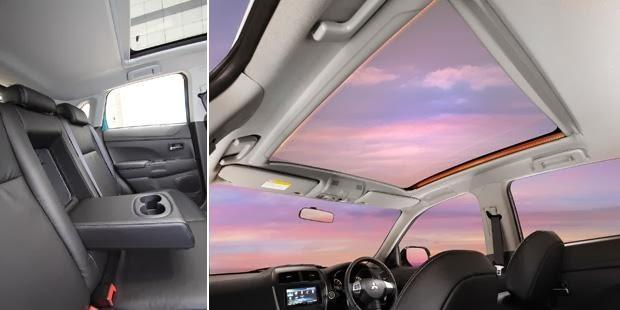 interior mitsubishi outlander sport limited 2014