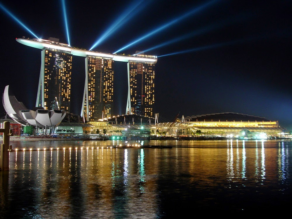 marina bays sand tempat wisata singapore