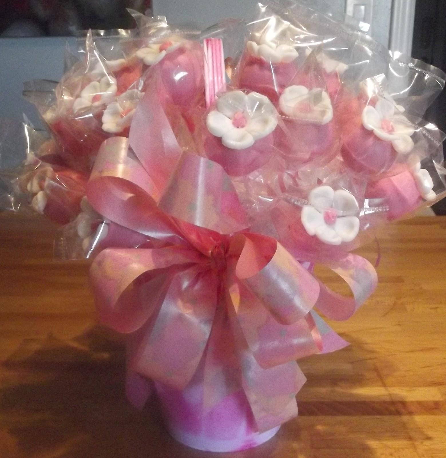 Cake Pop Flower Bouquet Choice Image - Flower Wallpaper HD