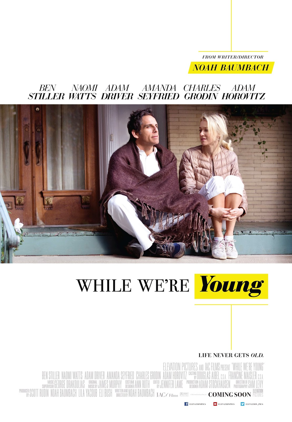 Win Tickets to 'While We're Young'!