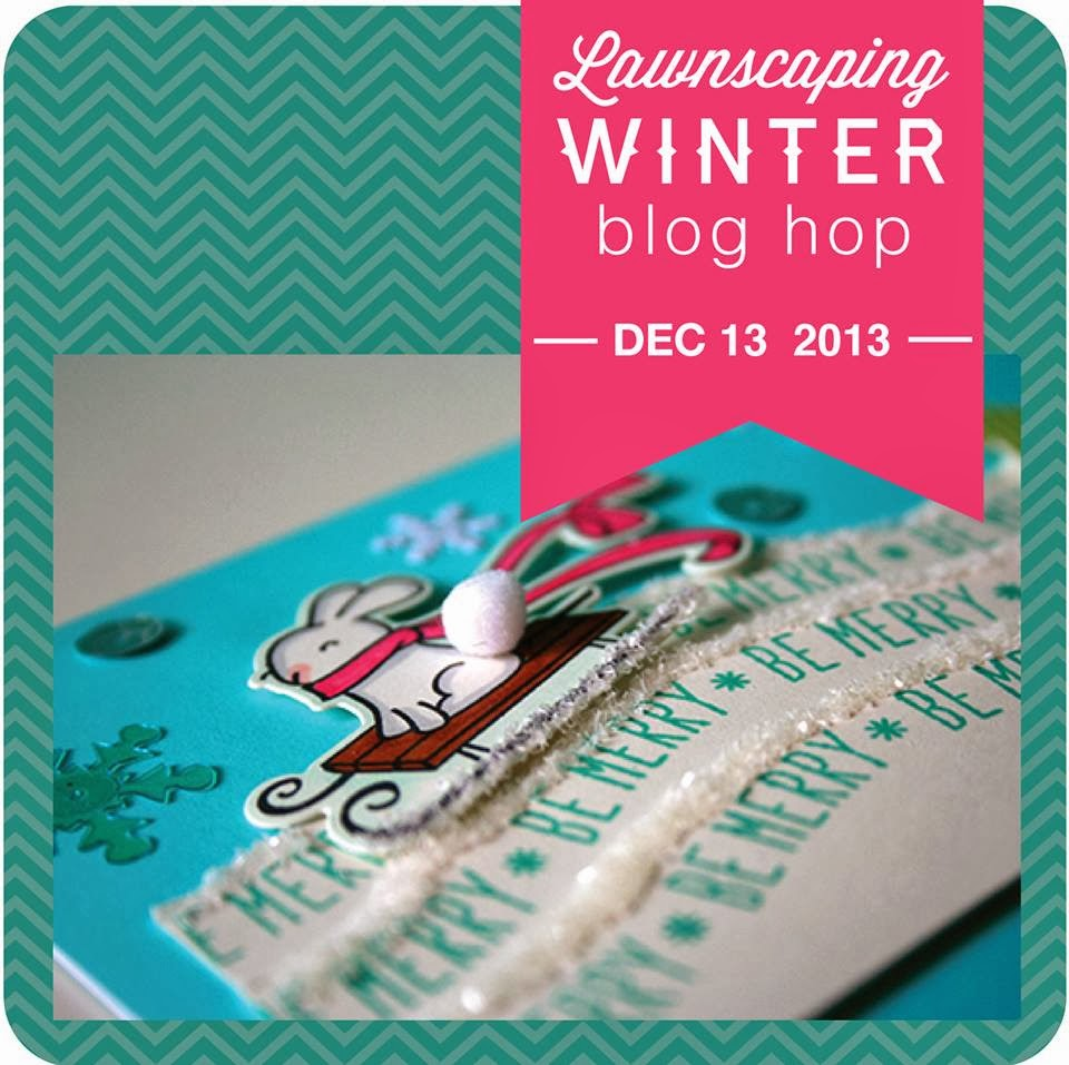 Lawnscaping Winter Blog Hop