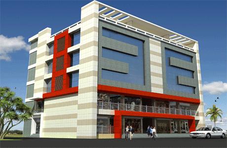 Interior design solution for Shopping mall exterior design