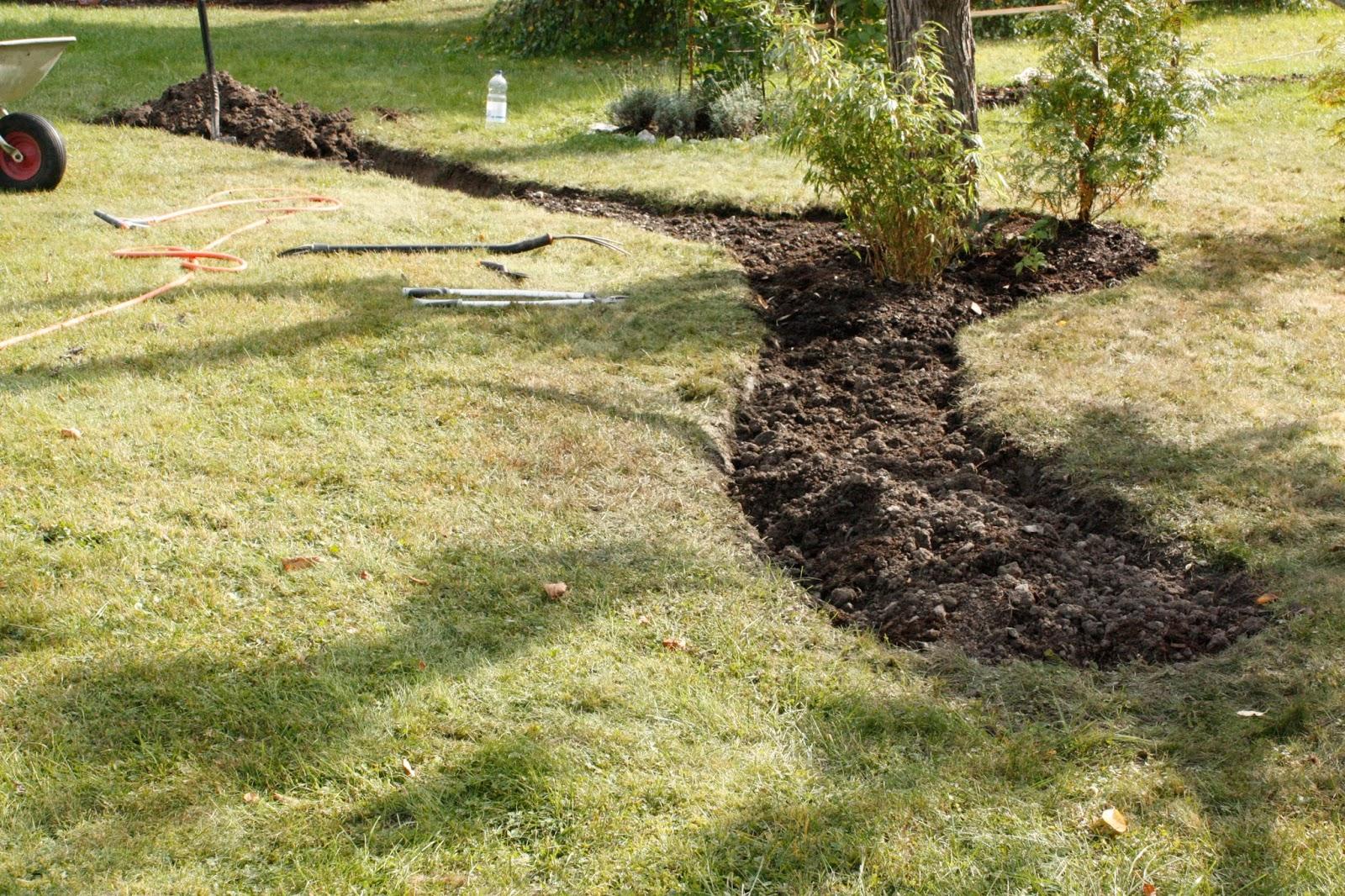 Josefins trädgård: gräv, gräv, gräv   bara gräv, gräv, gräv