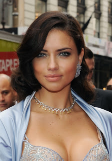 Adriana Lima New Fashion Hairstyles