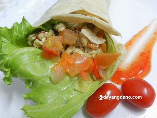 Healthy Yogurt Chicken Roll
