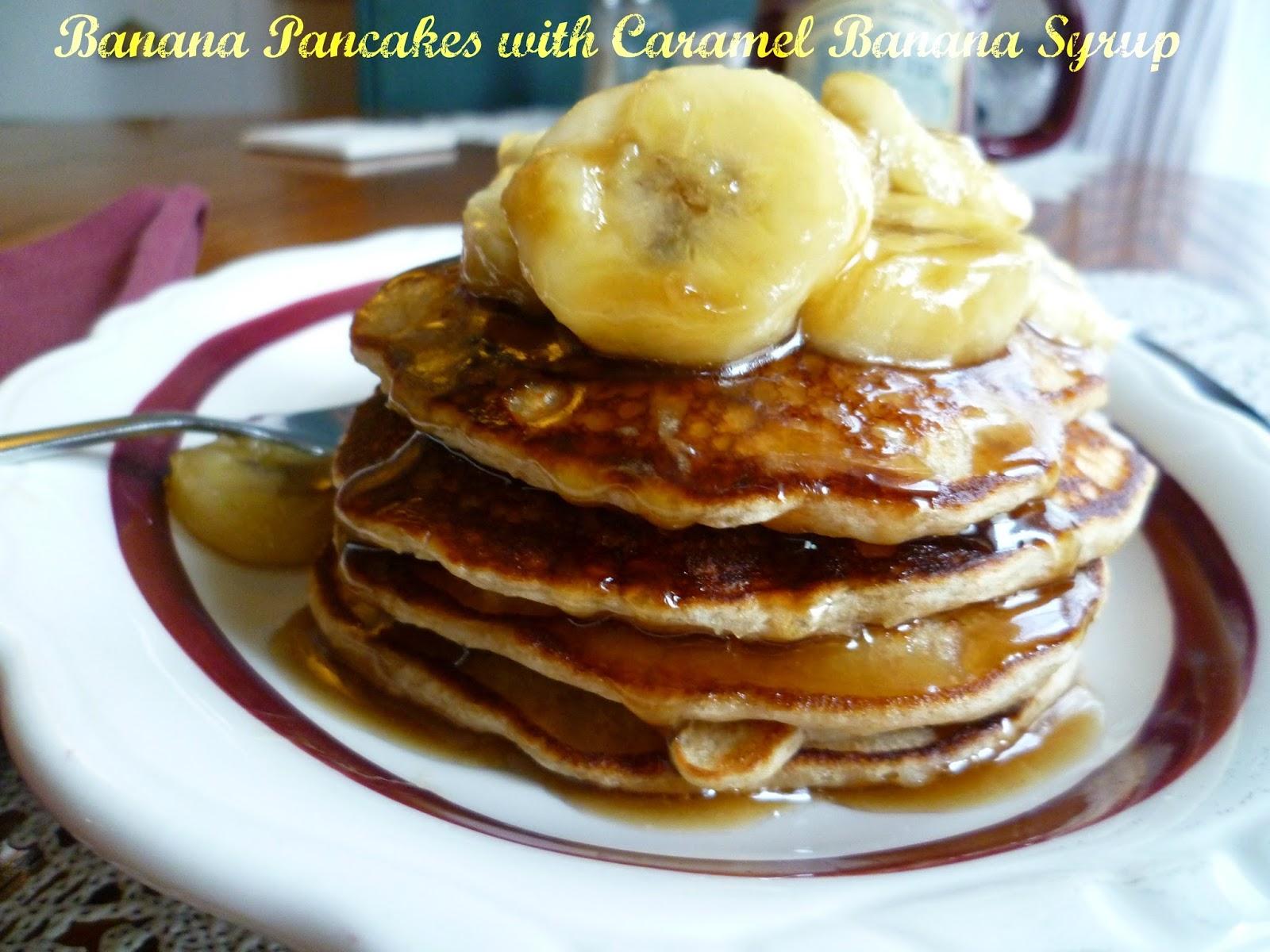 ... Inn Bed and Breakfast: Banana Pancakes with Caramel Banana Syrup