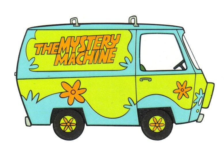 mystery machine clipart