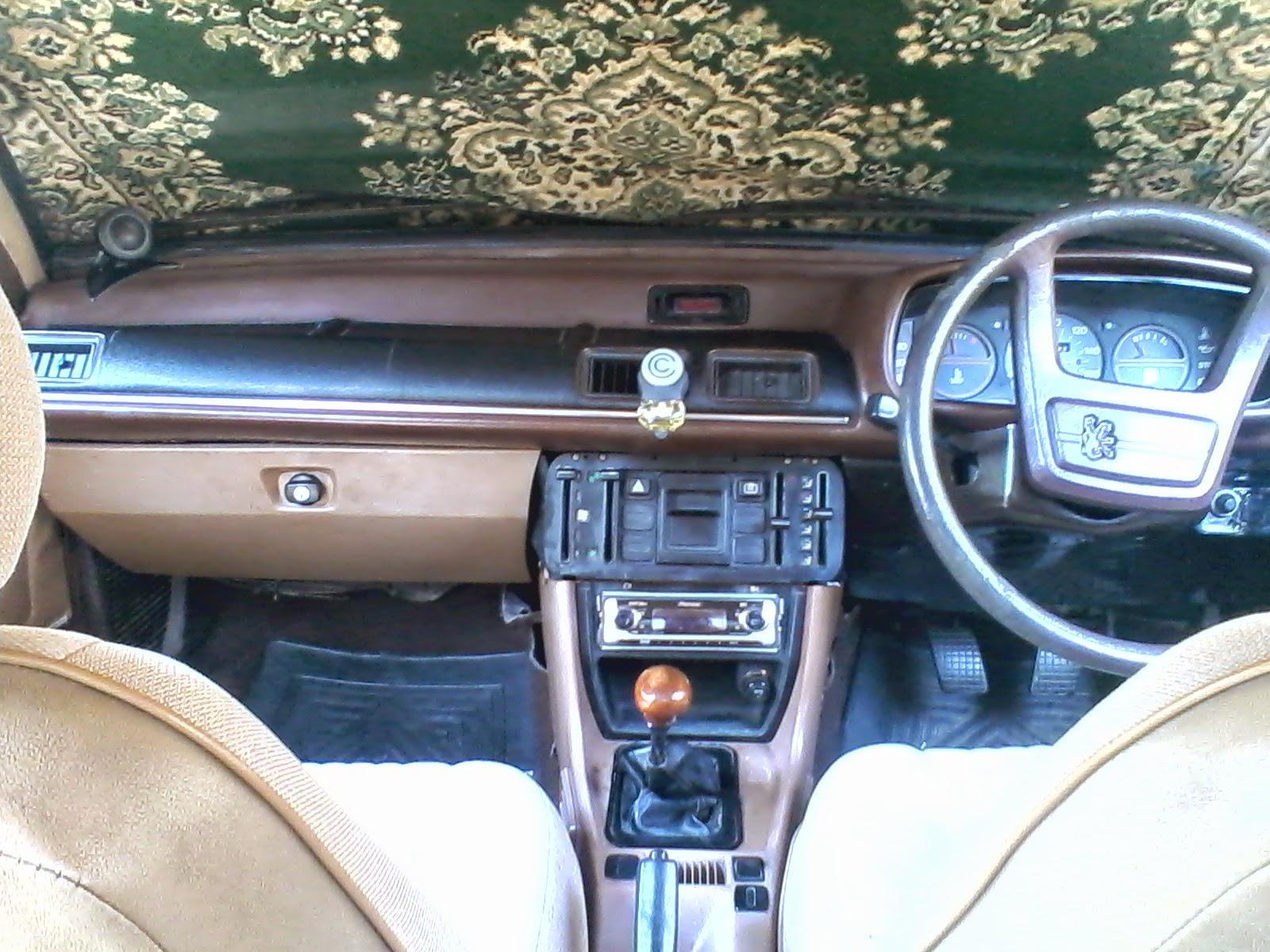 Interior Peugeot 505 GR 1982