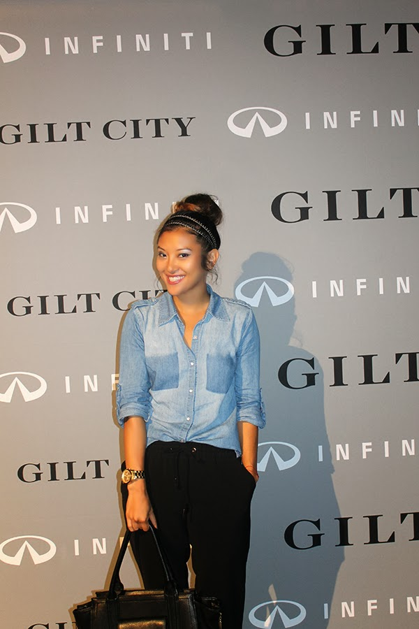 gilt city, gilt groupe, gilt city warehouse sale, miami, events, style by lynsee, fashion blogger, top blogger, gilt groupe, infiniti, infiniti q50, thom browne, zac posen, herradura tequila,