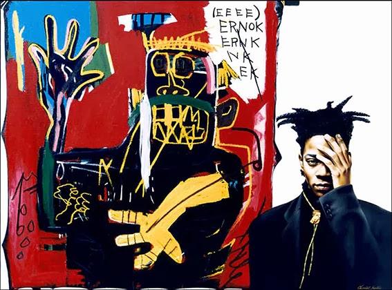 Negros Geniais, negros criativos, artistas plásticos, Basquiat, pintura, artes plásticas