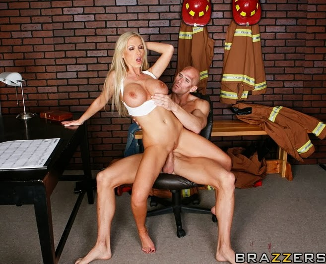 nikki benz big tits in uniform