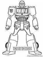 Gambar Iron Hide Robot Transformer