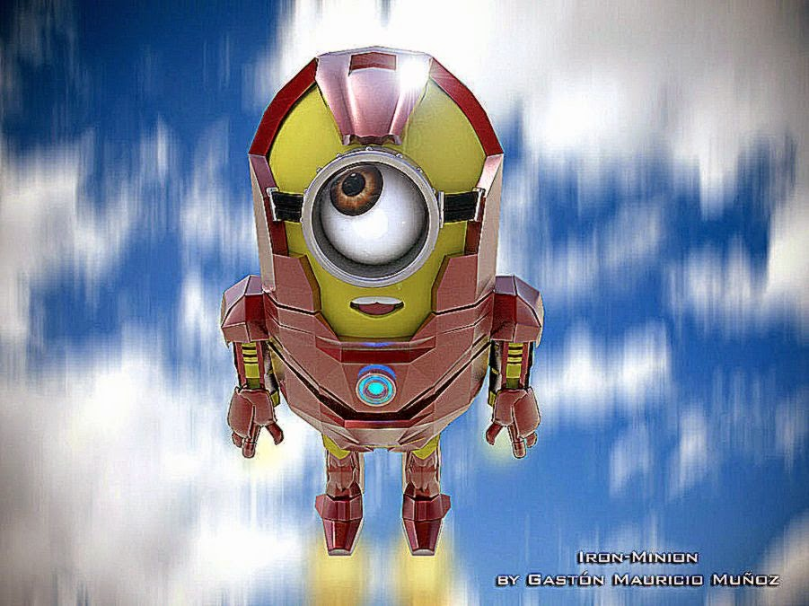 Iron Man Despicable Me 2 Wallpaper Hd Android Best Hd Wallpapers