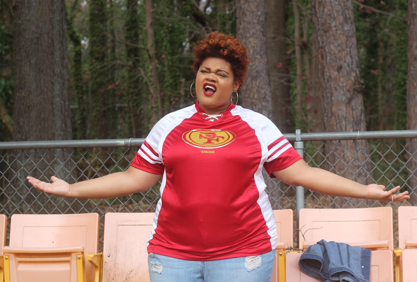 Women S San Francisco 49ers Majestic Scarlet Draft Me Plus