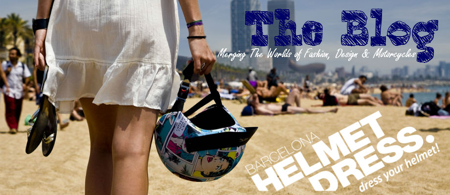 HelmetDress Helmet Covers Barcelona Official Blog