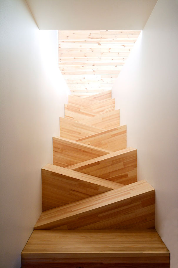 Sloping Stairs