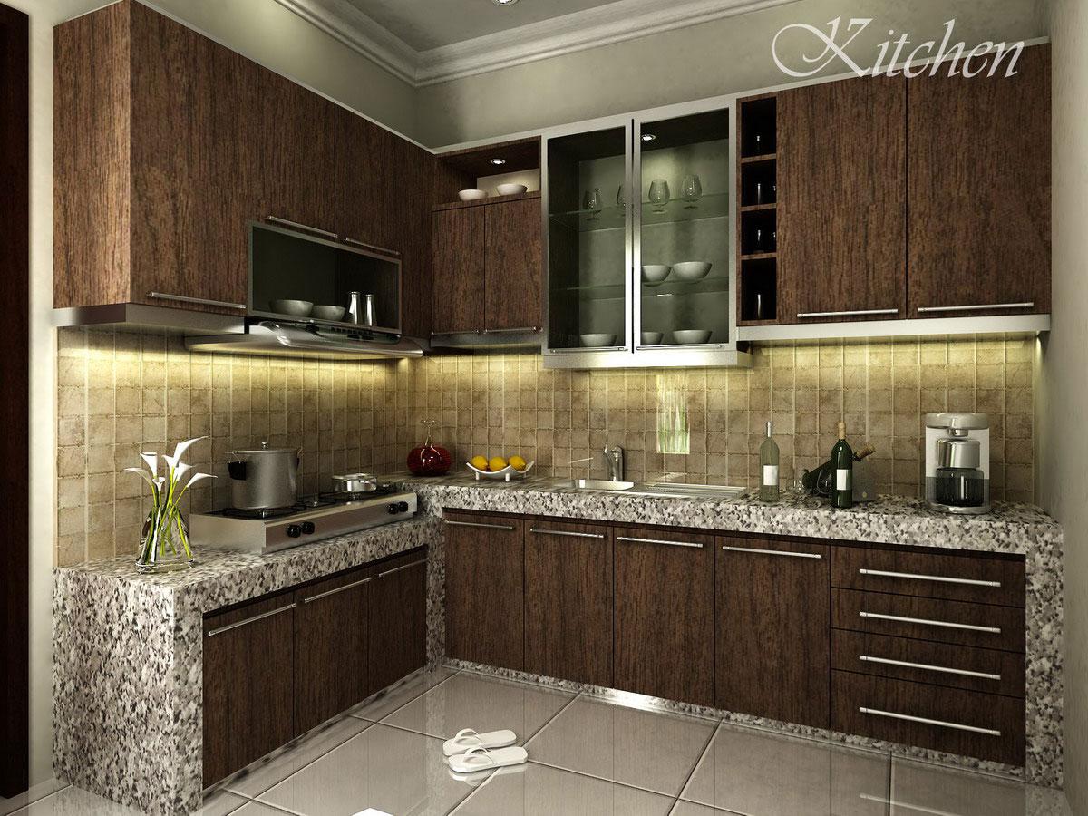 6 Tips Reka Bentuk Dapur Kecil Simple Small Kitchen Design