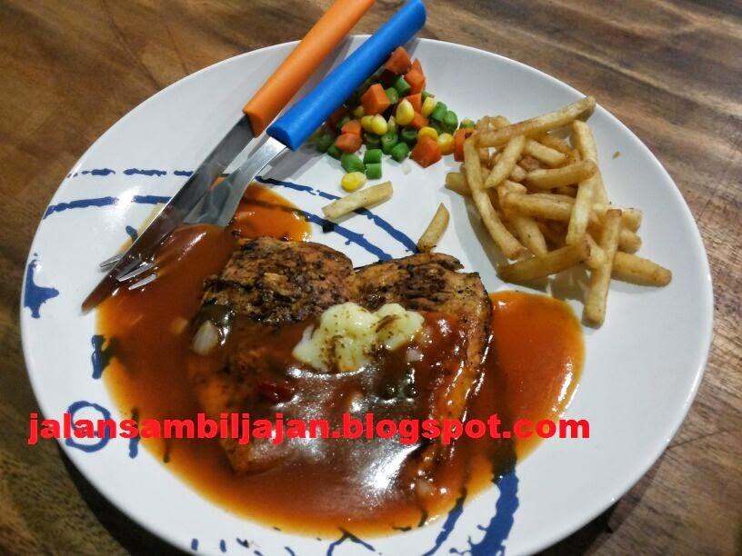 Chicken Steak Moza Lumer Resto