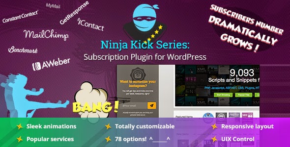 Ninja Kick: Subscription – WordPress Plugin