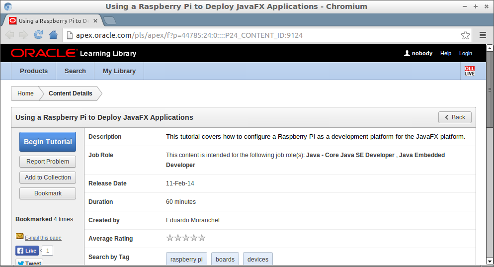 Using a Raspberry Pi to Deploy JavaFX Applications