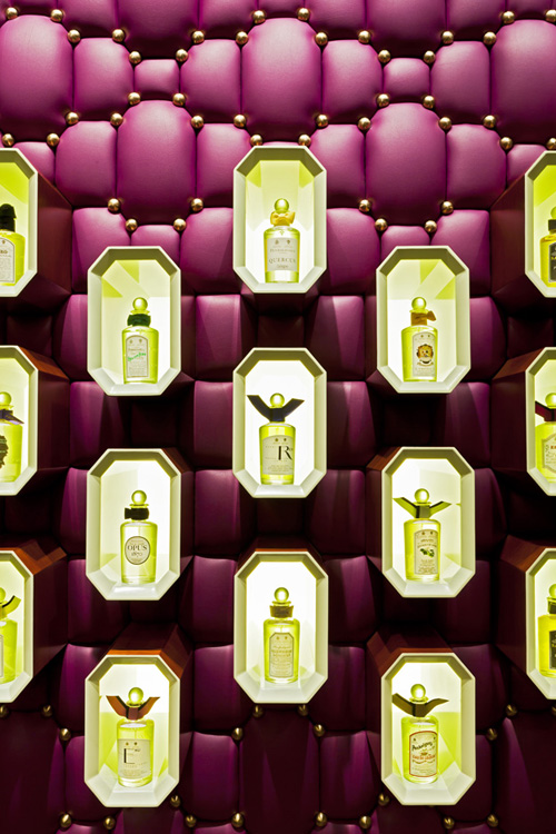 Extra Lighting Fixture for Interior Exotic Parfum Boutique Design